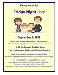 Friday Night live 9 7 2018