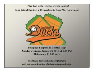 Long Island Ducks Game