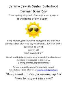 Summer game day