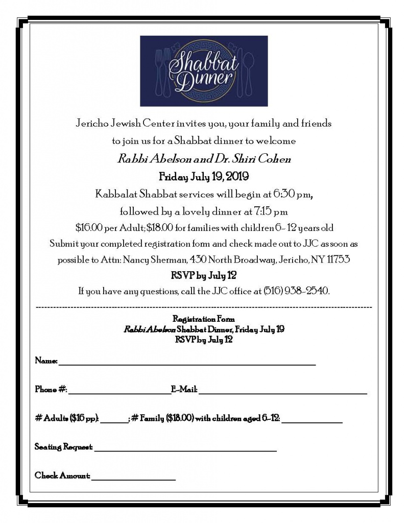 JJC Shabbat Dinner July Flyer 7-19-19